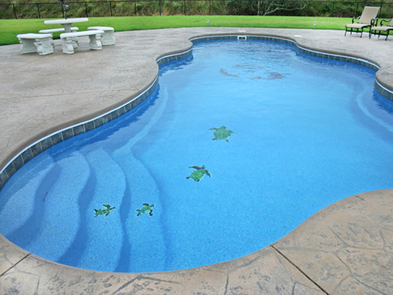 Picknell Pools | Mosaic Tiles for Swimming Pools by Viking ...